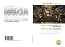 Bookcover of History of Purgatory