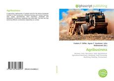 Bookcover of Agribusiness