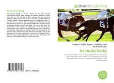 Portada del libro de Kentucky Derby