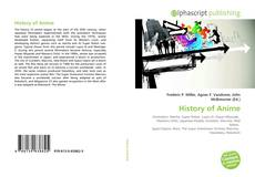 Bookcover of History of Anime