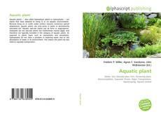 Bookcover of Aquatic plant