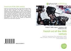 Copertina di French art of the 20th century