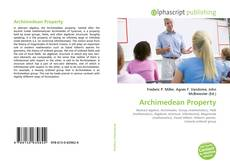 Bookcover of Archimedean Property