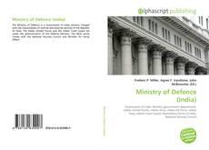 Capa do livro de Ministry of Defence (India)