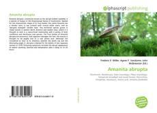 Bookcover of Amanita abrupta