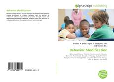 Portada del libro de Behavior Modification