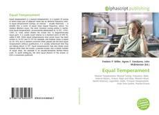 Bookcover of Equal Temperament