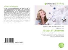 Обложка 25 Days of Christmas