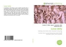 Lunar deity kitap kapağı