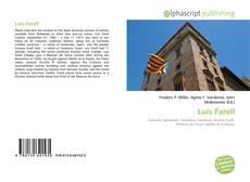 Portada del libro de Luis Farell