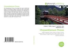 Обложка Chrysanthemum Throne