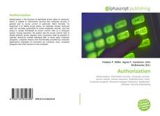 Bookcover of Authorization