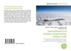 Capa do livro de International Civil Aviation Organization Airport Code