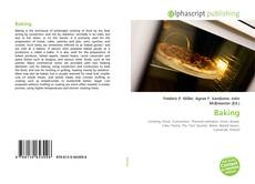 Bookcover of Baking