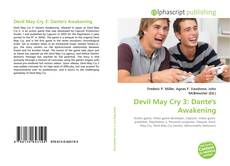 Bookcover of Devil May Cry 3: Dante's Awakening