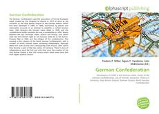 Bookcover of German Confederation