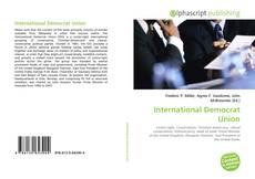 Borítókép a  International Democrat Union - hoz