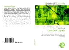 Bookcover of Constant Capital