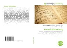 Borítókép a  Arnold Schoenberg - hoz