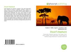 Bookcover of Dwarf elephant