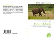 Capa do livro de Elephant intelligence