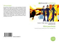 Buchcover von Hire purchase