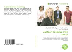 Bookcover of Austrian business cycle theory