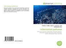 Copertina di Information pollution