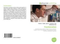 Обложка Fractionation