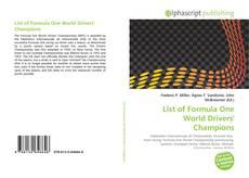Capa do livro de List of Formula One World Drivers' Champions