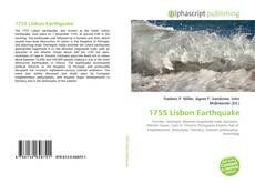 1755 Lisbon Earthquake kitap kapağı
