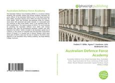 Bookcover of Australian Defence Force Academy