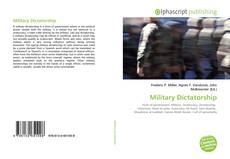 Capa do livro de Military Dictatorship