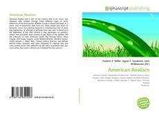 American Realism kitap kapağı