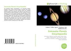 Bookcover of Extrasolar Planets Encyclopaedia