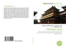 Borítókép a  13th Dalai Lama - hoz