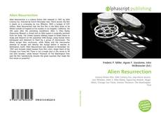 Bookcover of Alien Resurrection