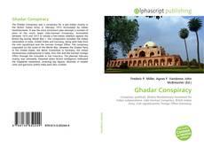 Portada del libro de Ghadar Conspiracy