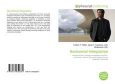 Capa do livro de Horizontal Integration