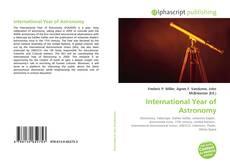 Обложка International Year of Astronomy