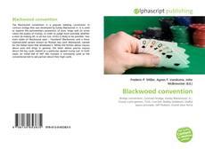 Обложка Blackwood convention
