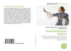 Couverture de Ireland Shakespeare forgeries