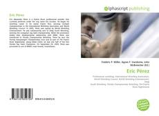 Bookcover of Eric Pérez