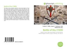 Bookcover of Battle of Diu (1509)