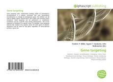 Capa do livro de Gene targeting