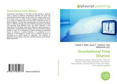 Bookcover of Gravitational Time Dilation