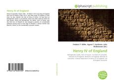 Bookcover of Henry IV of England