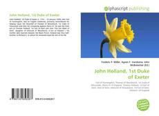 Buchcover von John Holland, 1st Duke of Exeter