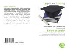 Обложка Emory University