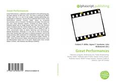 Copertina di Great Performances